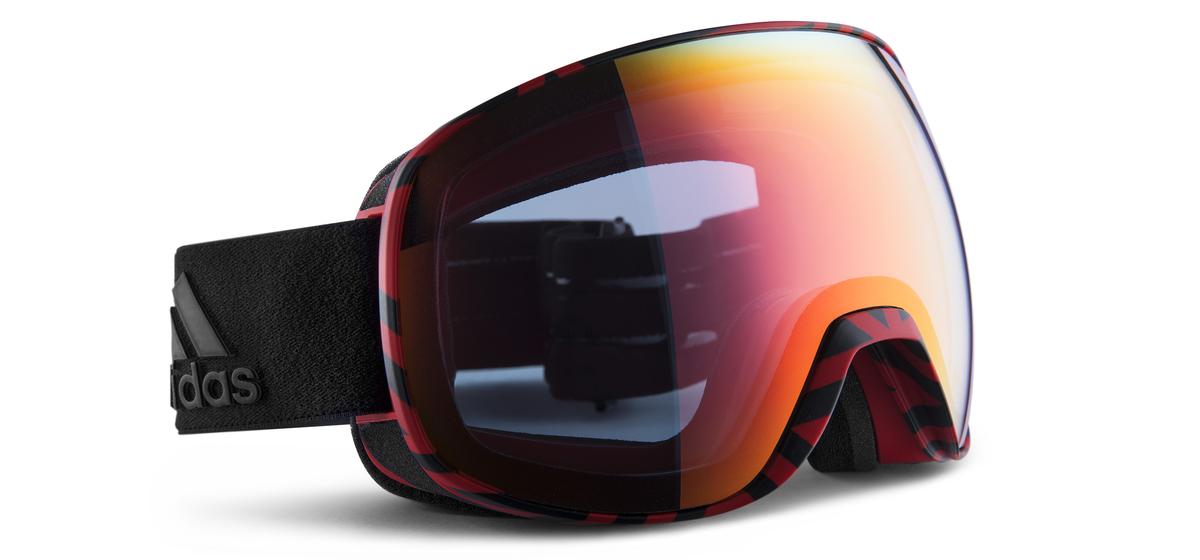 best service d2782 eae91 adidas Sport eyewear   progressor s   BLACK RED LIGHT RED  EN